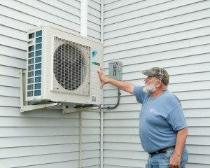 Exterior Cold Climate Heat Pumps